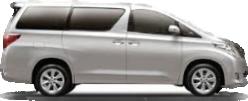 Toyota Alphard Rental