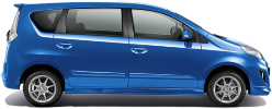 Perodua Alza Car Rental