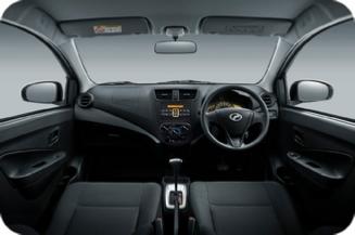 Perodua Axia - Dashboard