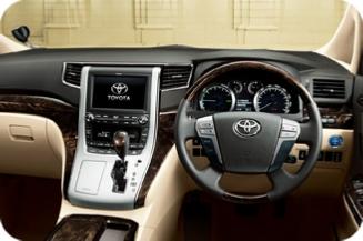 Toyota Alphard - Dashboard