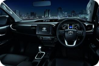 Toyota Hilux - Dashboard