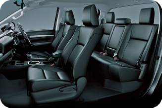 Toyota Hilux - Cabin View